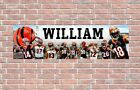 Cincinnati Bengals 2020 Roster Personalized Poster Custom Banner w Frame Options $37.5 USD on eBay