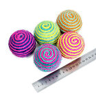 Sisal Balls Ropes Weave Cat Dog Toys For Pets Dogs Interactive Toy UK Stock