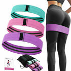 Cloth Fabric Resistance Hip Booty Bands Loop Exercise Workout Fitness Light Band image