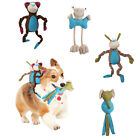 WO_ Pet Dog Puppy Animal Soft Plush Doll Molar Teeth Chewing Squeaky Sound Toy E