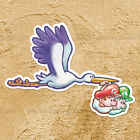 Yoshi Island Baby Mario Luigi Stork Cute Car Window Wall Die Cut Decal Sticker
