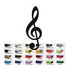 Treble Clef Music Note Vinyl Decal for Home Car Window Wall Bumper Music Words
