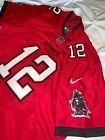 30% off Tom Brady Tampa Bay Buccaneers #12 Adult Men L XL 2XL Red Jersey $64.95 USD on eBay