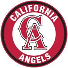 Los Angeles Angels of Anaheim CA Circle Logo Vinyl Decal Sticker 10 sizes!!