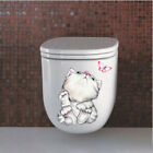 Decal Vinyl Art Decal Self-adhesive Decal Home Decor Home&living Toilet Stickers