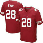 NFL San Francisco 49ers Football Trikot Jersey Sport Shirt HYDE RICE Rugby Tops