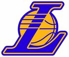 Los Angeles Lakers L Logo Vinyl Decal / Sticker 10 Sizes!! with TRACKING!! on eBay