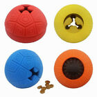 WO_ Pet Dogs Puppy Funny Rubber Ball Teeth Molar Clean Bite Play Interactive Toy