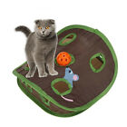 WO_ EE_ Simple 9-hole Cat Kitten Interactive Toy Ball Bell Mouse Hidden Pet Supp