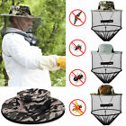 Anti Mosquito Bees Bugs Insect Head Face Net Hat UV Protection Sun Cap Men women