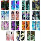 OFFICIAL HAROULITA LIQUID MARBLE LEATHER BOOK WALLET CASE FOR SAMSUNG PHONES 1