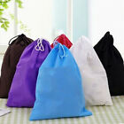 Portable Barrel Travel Cosmetic Bag Drawstring Makeup Storage Clothes Bag Hs