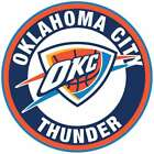 Oklahoma City Thunder Circle Logo Vinyl Decal / Sticker 10 Sizes!! on eBay