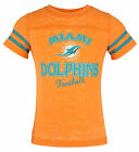 Outertstuff NFL Youth Girls Miami Dolphins Lightweight Sheer Tee Shirt $9.99 USD on eBay