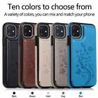 For Iphone 11 Pro 7 8 Plus Xs Max Shockproof Leather Card Slot Wallet Case