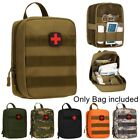 Outdoor Tactical Waist Pack Medical Travel First Aid Bag Kit Multi functional