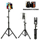 Foldable Height Adjustable Floor Tablet Tripod Stand Mount For Tablet Cell Phone