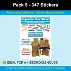 Pack 5 - 347 Home Moving Stickers
