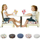 High Chair Portable Baby Cushion Travel Booster Seat Pad with Cover Dining Chair