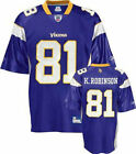 Reebok Minnesota Vikings NFL Koren Robinson # 18 Men's Replica Jersey, Purple $16.99 USD on eBay