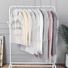 6PCS Wardrobe Hanging Clothing Cover Suit Garment Bag Clothes Dust Cover Bag New