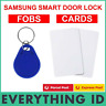 More images of NFC KEY FOB TAG / CARD FOR SAMSUNG SMART RFID DIGITAL DOOR LOCK SOS HOME NETWORK