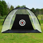 2M Foldable Golf Net Training Aid Practice Hitting Driving Chipping Cage Outdoor