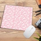 Gaming Mouse Pad Rubber Rectangle Weaving Cloth Mats Colorful Leopard Computer