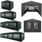 Garden Gazebo Marquee Canopy Waterproof Patio Party Tent Muti Sizes and Colors