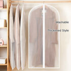 Garment Bag Storage Protector Plastic Clear Dust-proof Cloth Cover Suit/dress