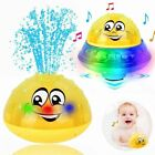 Baby The Bathly Water Spray Toy Bath Fun Light Induction Sprinkler Toy...
