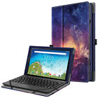 Case for RCA 10 Viking Pro RCT6A03W13 Slim Leather Folio Cover w/ encil Holder