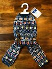 Top Paw Apparel For Dogs Beer Fair Isle PJS New with Tags Various Sizes