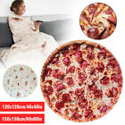 """Bedding Outlet Mexican Burrito 60""""Blanket 3D Corn Tortilla Flannel Blanket Funny"""