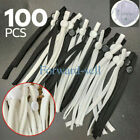 50/100 Pcs Sewing Elastic Band Cord With Adjustable Buckle For Diy Mask Sewing