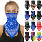 Kyпить Summer Breathable Balaclava Neck Gaiter Tube Bandana Face Mask Cover Washable !! на еВаy.соm