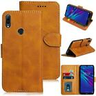 For Huawei Y6s  Case Leather Wallet Protection HeavyDuty Book Cover Stand Matte