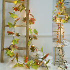 2M 20 LED Artificial Leaves Maple Fairy String Lights Garland Home Party Decor