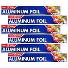 Table King Standard Aluminum Foil Roll Wrap 11.8 in x 40 ft pack of 2 / 4 / 6