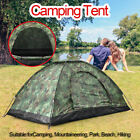 US Outdoor 2-3 Person 4 Season Camping Hiking Waterproof Folding Tent Camouflage