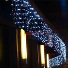 Christmas LED Curtain Icicle String Light Droop LED Party Garden Stage Lights 5M