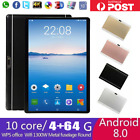 10 1 wifi tablet deca core android 8 0 4 64gb gps bluetooth 4 1 camera phablet
