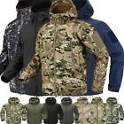 New ESDY Shark Skin Soft Shell Men's Outdoors Military Tactical Coat Jacket *