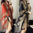 Women Summer Long Sunscreen Soft Chiffon Scarves Shawl Neck Wrap Scarf Stole US