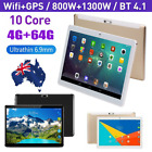 "2.5d Screen 10.1"" Bluetooth Android 9.0 Tablet 4+64g Tablet Pc Dual Cameras Wifi"
