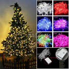 US 10M 32FT LED String Lights Connectable with Tail US Plug Home Xmas Outdoor