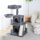 Mulitlevel Cat Tree Scratching Post Tower Acitvity Centre Climbing Scratcher Bed