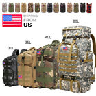 30l/35l/40l/80l Outdoor Camping Bag Military Backpack Tactical Hiking Rucksack