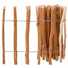 Hazelwood Fence Picket Garden Wooden Fencing Durable Wooden Barrier 4 Sizes New
