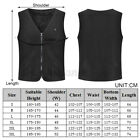 Men Electric Vest Heated Jacket USB Thermal Warm Heating Pad Winter Body Fashion